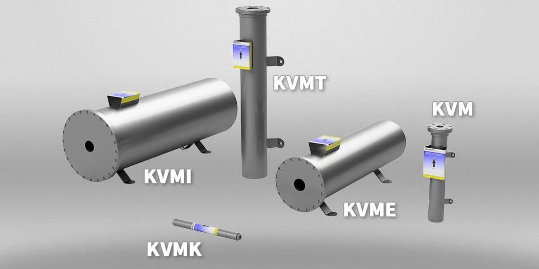 Ozonkatalysator (Ozondestruktor) KVM Familie