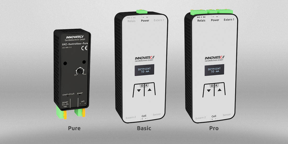 OMZ – Ozone Microcell Controllbox Variations